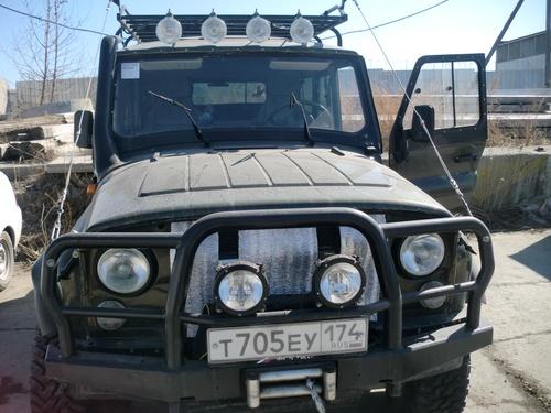 Подержанный УАЗ 3151, хорошее состояние, зеленый , 2010 года выпуска, цена 470 000 руб. в Челябинской области