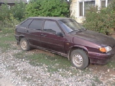Подержанный ВАЗ (Lada) 2114, хорошее состояние, вишневый , 2011 года выпуска, цена 150 000 руб. в республике Татарстане