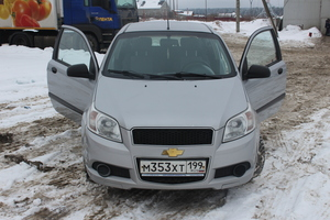 Подержанный автомобиль Chevrolet Aveo, отличное состояние, 2010 года выпуска, цена 249 000 руб., Чехов