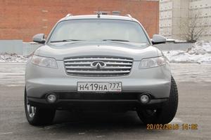 Подержанный автомобиль Infiniti FX-Series, отличное состояние, 2004 года выпуска, цена 620 000 руб., Химки