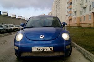 Автомобиль Volkswagen New Beetle, хорошее состояние, 2001 года выпуска, цена 315 000 руб., Курск