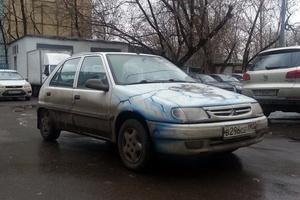 Автомобиль Citroen Saxo, среднее состояние, 1998 года выпуска, цена 70 000 руб., Москва