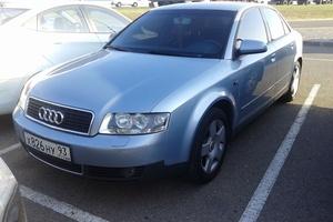 Подержанный автомобиль Audi A4, отличное состояние, 2004 года выпуска, цена 365 000 руб., Краснодар