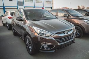 Авто Hyundai ix35, 2014 года выпуска, цена 995 500 руб., Москва