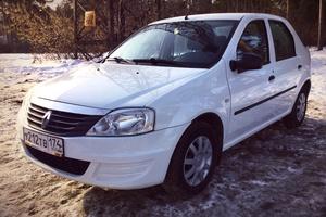 Подержанный автомобиль Renault Logan, отличное состояние, 2012 года выпуска, цена 300 000 руб., Челябинск