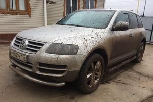 Подержанный автомобиль Volkswagen Touareg, хорошее состояние, 2004 года выпуска, цена 550 000 руб., Набережные Челны