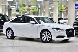 Подержанный автомобиль Audi A6, отличное состояние, 2013 года выпуска, цена 1 099 999 руб., Москва