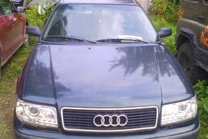 Подержанный автомобиль Audi 100, среднее состояние, 1992 года выпуска, цена 120 000 руб., Раменское