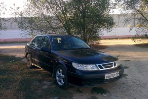 Автомобиль Saab 9-5, среднее состояние, 1998 года выпуска, цена 109 999 руб., Волгоград