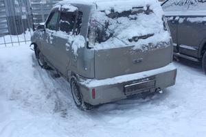 Автомобиль Nissan Cube, битый состояние, 2001 года выпуска, цена 70 000 руб., Челябинск
