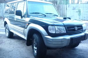 Автомобиль Hyundai Galloper, отличное состояние, 2002 года выпуска, цена 350 000 руб., Санкт-Петербург