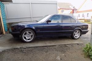 Автомобиль BMW 5 серия, хорошее состояние, 1994 года выпуска, цена 250 000 руб., Миасс