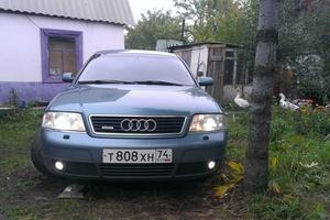 Подержанный автомобиль Audi A6, хорошее состояние, 1998 года выпуска, цена 260 000 руб., Челябинск