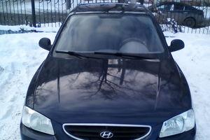 Автомобиль Hyundai Accent, хорошее состояние, 2007 года выпуска, цена 215 000 руб., Челябинск