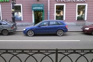 Автомобиль Mazda Familia, среднее состояние, 2000 года выпуска, цена 250 000 руб., Санкт-Петербург