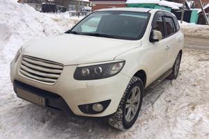 Автомобиль Hyundai Santa Fe, хорошее состояние, 2010 года выпуска, цена 825 000 руб., Ульяновск
