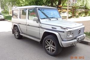 Подержанный автомобиль Mercedes-Benz G-Класс, отличное состояние, 1999 года выпуска, цена 900 000 руб., Смоленск