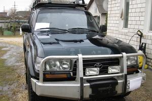 Подержанный автомобиль Toyota Land Cruiser, отличное состояние, 1997 года выпуска, цена 850 000 руб., Павловский Посад