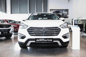 Авто Hyundai Santa Fe, 2016 года выпуска, цена 2 724 000 руб., Москва