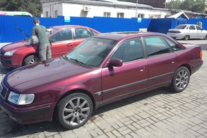 Автомобиль Audi 100, хорошее состояние, 1992 года выпуска, цена 180 000 руб., Ростов-на-Дону