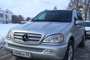 Автомобиль Mercedes-Benz M-Класс, хорошее состояние, 2004 года выпуска, цена 670 000 руб., Подольск