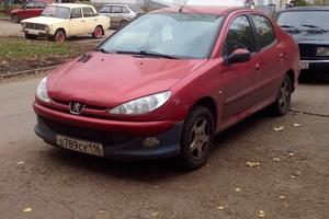 Автомобиль Peugeot 206, среднее состояние, 2008 года выпуска, цена 250 000 руб., республика Татарстан