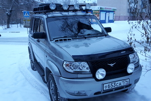 Автомобиль УАЗ Patriot, отличное состояние, 2012 года выпуска, цена 700 000 руб., Челябинск