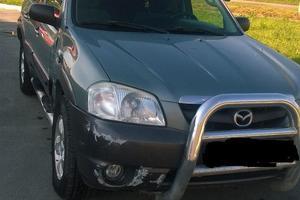 Автомобиль Mazda Tribute, среднее состояние, 2003 года выпуска, цена 290 000 руб., Челябинск