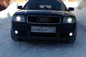 Подержанный автомобиль Audi A6, хорошее состояние, 2002 года выпуска, цена 315 000 руб., Челябинск