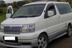 Автомобиль Nissan Elgrand, отличное состояние, 1999 года выпуска, цена 399 900 руб., Верхний Уфалей