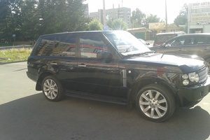 Подержанный автомобиль Land Rover Range Rover, отличное состояние, 2009 года выпуска, цена 1 100 000 руб., Челябинск