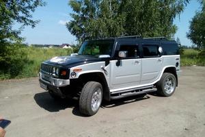 Автомобиль Hummer H2, отличное состояние, 2004 года выпуска, цена 1 500 000 руб., Старый Оскол