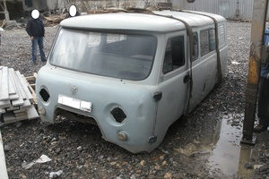 Подержанный автомобиль УАЗ 3909, битый состояние, 2007 года выпуска, цена 16 000 руб., Златоуст