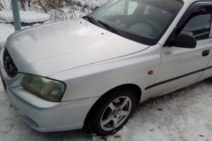 Автомобиль Hyundai Accent, хорошее состояние, 2005 года выпуска, цена 150 000 руб., Челябинск
