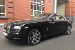 Автомобиль Rolls-Royce Wraith, отличное состояние, 2015 года выпуска, цена 16 000 000 руб., Москва