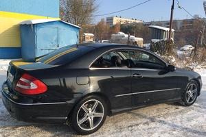 Автомобиль Mercedes-Benz CLK-Класс, отличное состояние, 2002 года выпуска, цена 500 000 руб., Челябинск