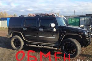 Автомобиль Hummer H2, отличное состояние, 2003 года выпуска, цена 1 300 000 руб., Ростовская область