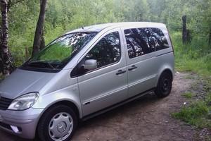 Автомобиль Mercedes-Benz Vaneo, среднее состояние, 2004 года выпуска, цена 220 000 руб., Электросталь