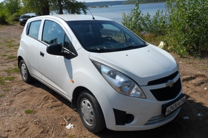 Подержанный автомобиль Chevrolet Spark, отличное состояние, 2012 года выпуска, цена 288 000 руб., Нижнекамск