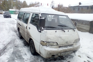 Автомобиль Hyundai Grace, среднее состояние, 1994 года выпуска, цена 75 000 руб., Прокопьевск