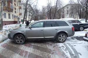 Подержанный автомобиль Audi Allroad, хорошее состояние, 2003 года выпуска, цена 430 000 руб., Москва