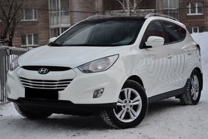 Авто Hyundai ix35, 2010 года выпуска, цена 880 000 руб., Новосибирск