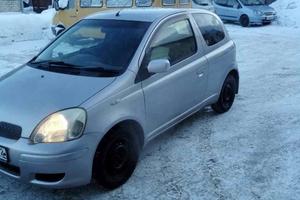 Автомобиль Toyota Vitz, хорошее состояние, 2002 года выпуска, цена 189 000 руб., Тюмень