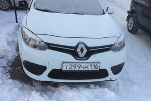 Автомобиль Renault Fluence, битый состояние, 2013 года выпуска, цена 269 000 руб., республика Татарстан