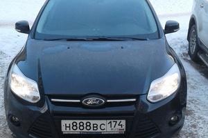 Подержанный автомобиль Ford Focus, отличное состояние, 2015 года выпуска, цена 730 000 руб., Челябинск