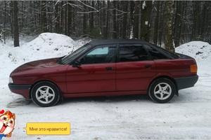 Автомобиль Audi 80, хорошее состояние, 1988 года выпуска, цена 90 000 руб., Москва