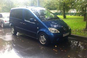 Автомобиль Mercedes-Benz Vaneo, хорошее состояние, 2002 года выпуска, цена 145 000 руб., Москва