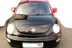 Автомобиль Volkswagen New Beetle, хорошее состояние, 1999 года выпуска, цена 299 999 руб., Красноярск