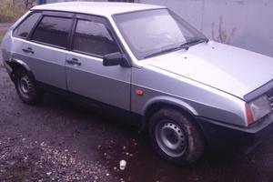 Подержанный автомобиль ВАЗ (Lada) 2109, битый состояние, 2001 года выпуска, цена 35 000 руб., Королев