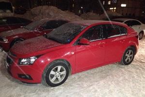 Подержанный автомобиль Chevrolet Cruze, отличное состояние, 2012 года выпуска, цена 550 000 руб., Сургут